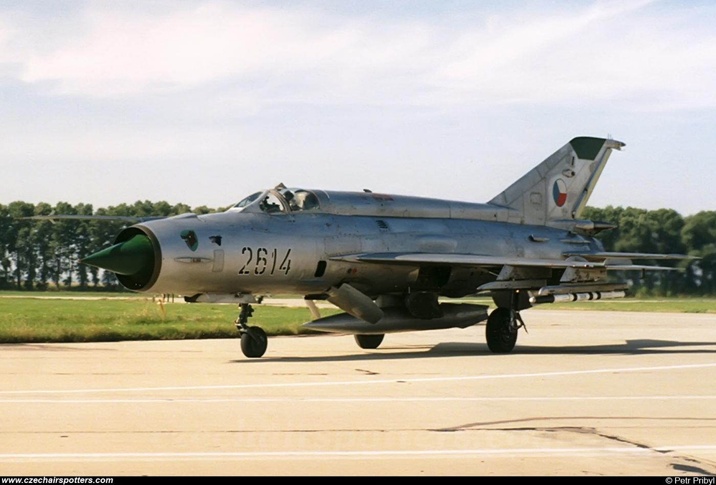 Czech - Air Force – Mikoyan-Gurevich MiG-21MA 2614