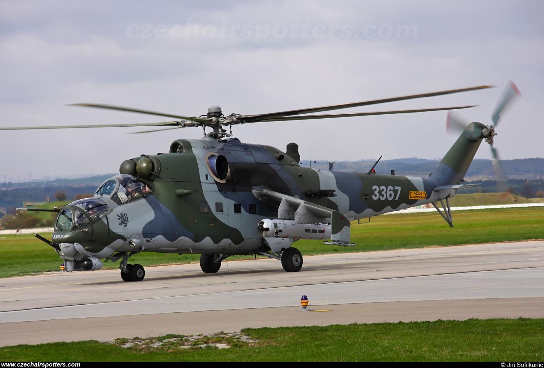 Czech - Air Force – Mil Mi-24V Hind 3367