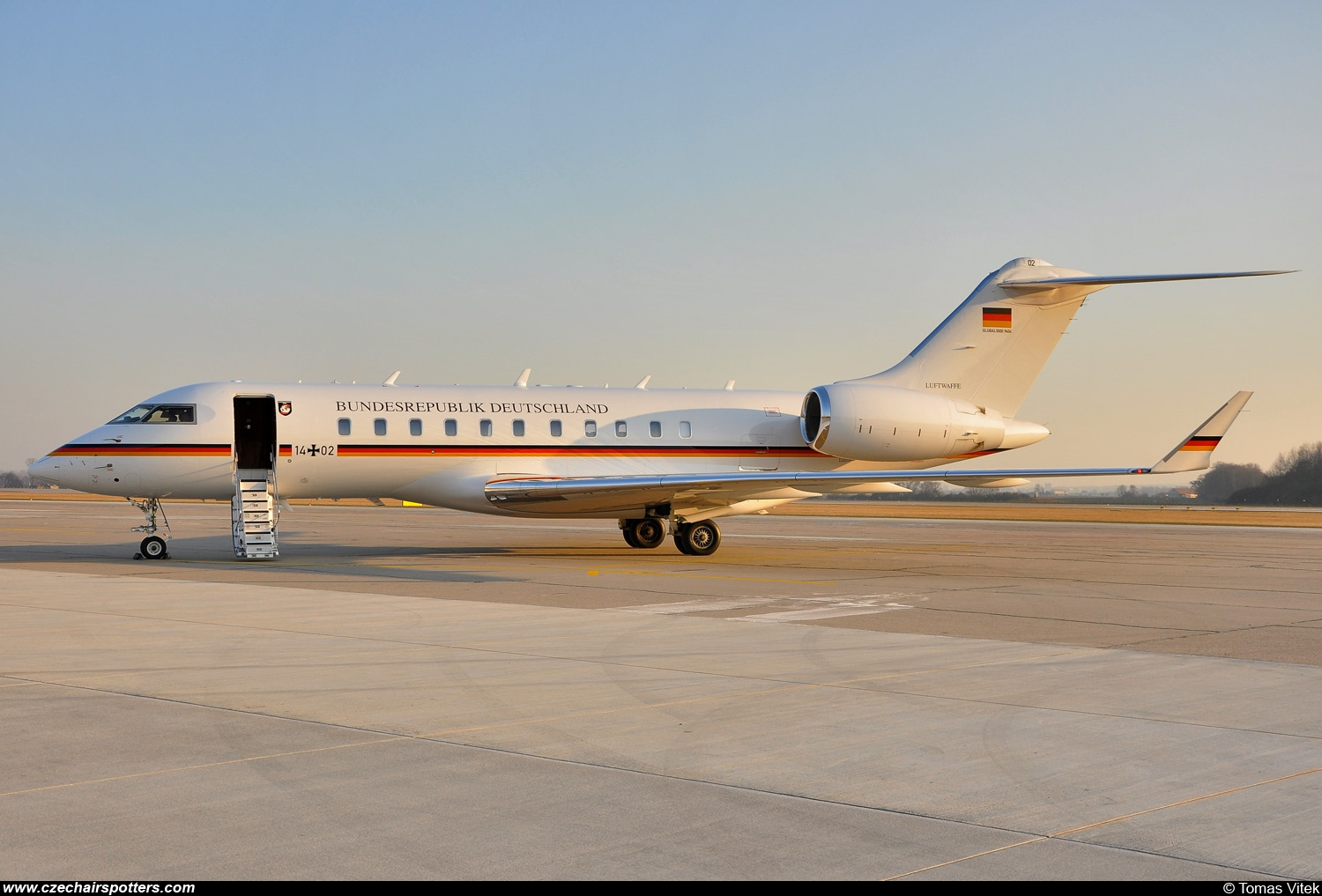 Germany - Air Force – Bombardier Global 5000 14+02