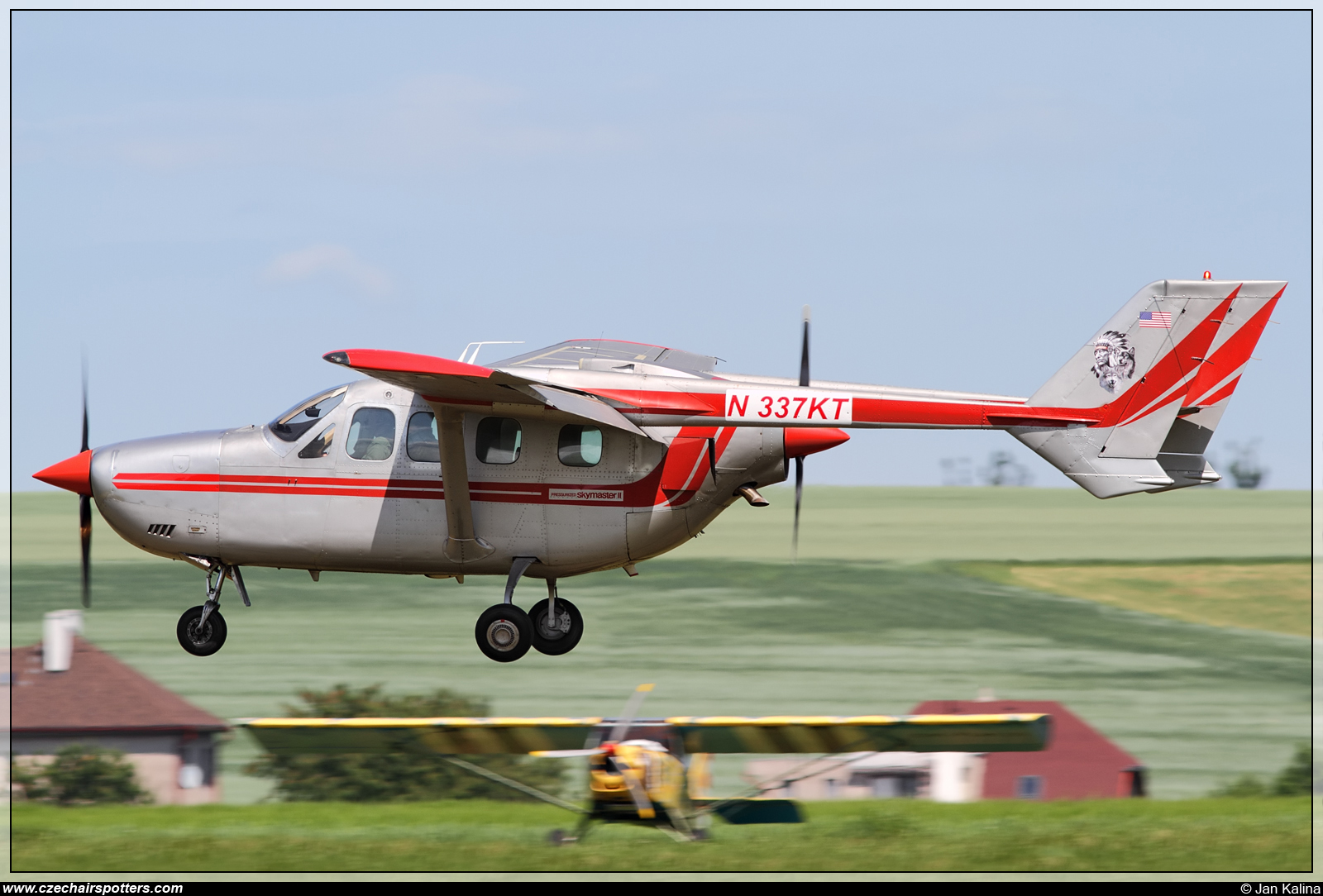 private - Cessna FT337GP Super Skymaster (Reims) N337KT