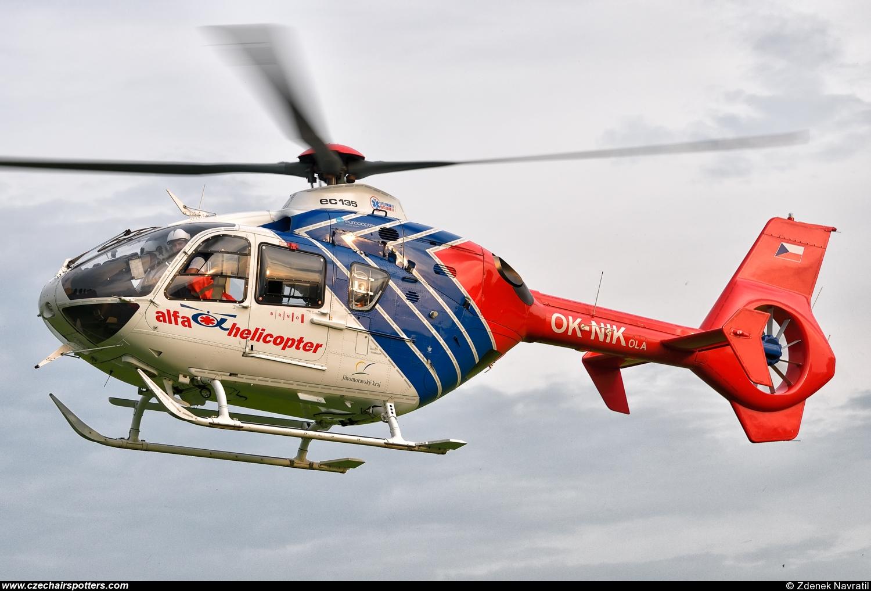 Elicottero Ec 135 : Alfa helicopter eurocopter ec t ok nik