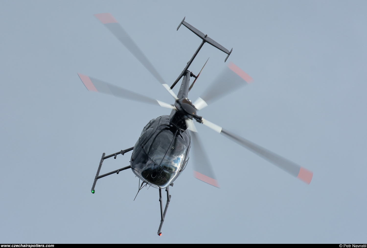 private – MD Helicopters MD 500E (369E) OK-PKS