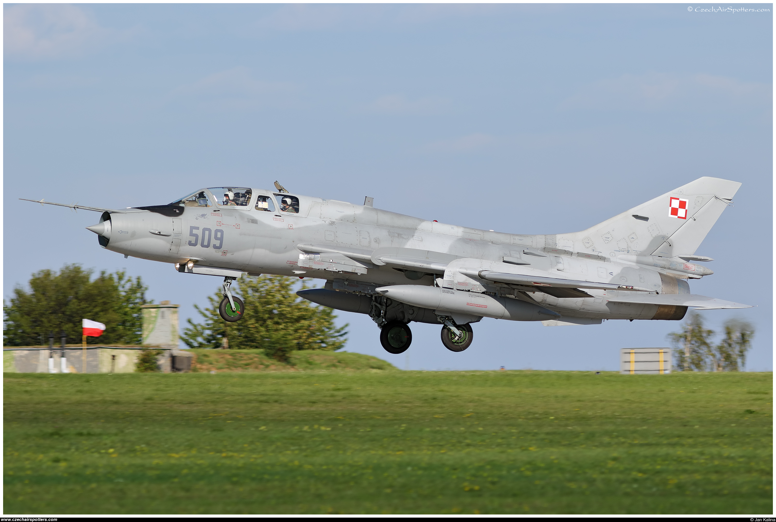 Poland - Air Force – Sukhoi Su-22 UM-3K Fitter G 509